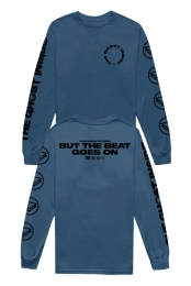 Beat Goes On Long Sleeve (Indigo)