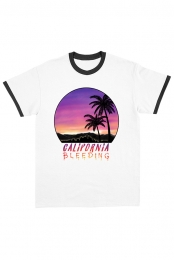 California Bleeding Ringer Tee