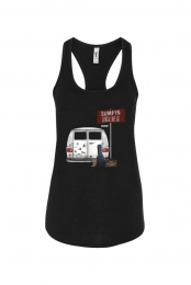 Keep your suitcase packed. Tank (Black)