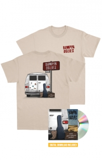 Keep your suitcase packed. CD + Digital + Shirt (Natural)