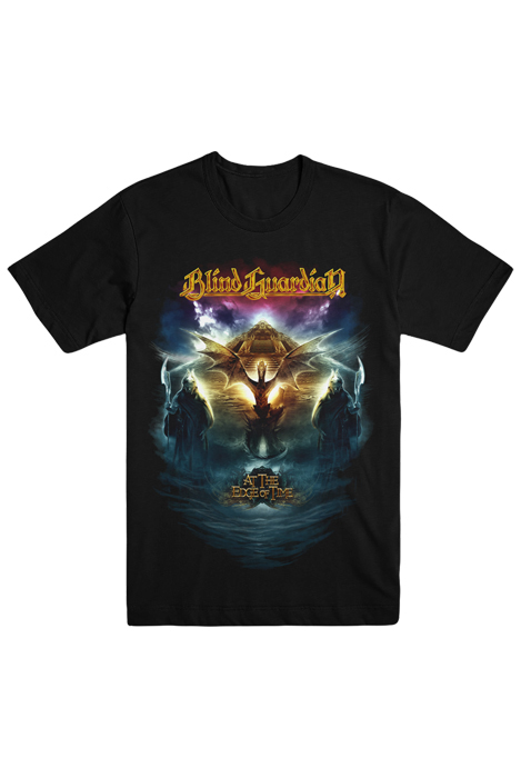 At The Edge Of Time - 10th Anniversary Tee (Black)