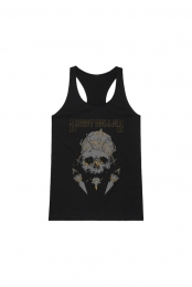 Crown/Skull Ladies Tank (Black)