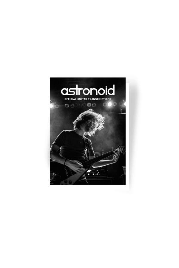 Astronoid Official Guitar Transcriptions Digital Download