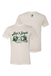 Keep It Simple Tee (Oatmeal Tri-blend)