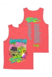 Summer 2020 Tour Tank - Red