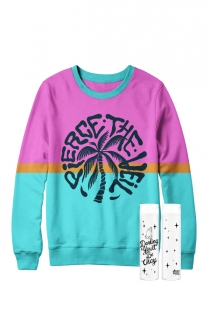 Tropical Crewneck + Candle Bundle