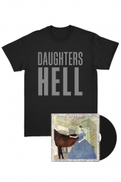 Hell Songs Black LP + Hell T-Shirt Bundle