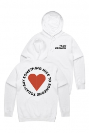Say Something Nice Pullover Hoodie