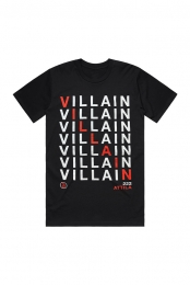 Villain Stacked Tee