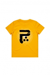 P Logo Toddler Tee (Gold)