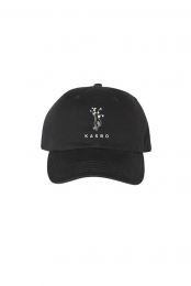 Flower Hands Dad Hat (Black)