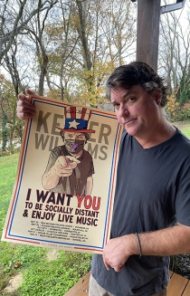 I Want You 16 x 22 Poster Signed by Keller