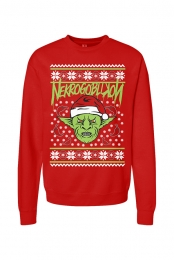 Goblin Holiday Crewneck - Red
