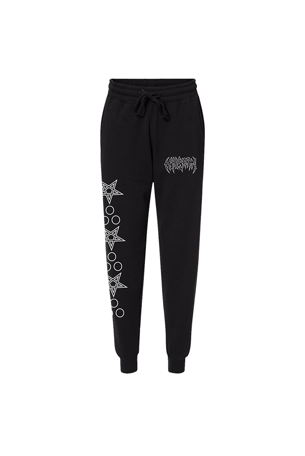 Ripped Women's Joggers (Black)