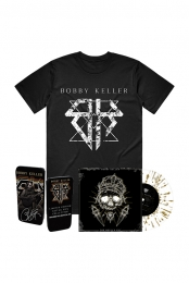 The Devils Cut LP (Translucent w/ Gold Splatter) + Logo Tee + Pick Tin
