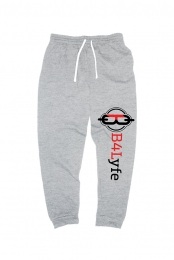 B4Life Signature Line Joggers (Athletic Heather Grey)