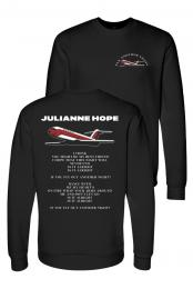 Fly Another Night Limited Crewneck  - Julianne Hope
