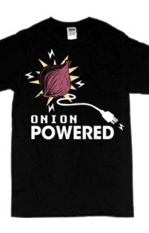 Onion Powered (black)