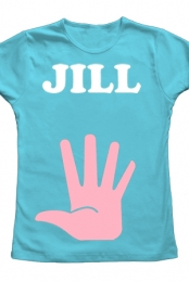 Jill with Pink (light blue)