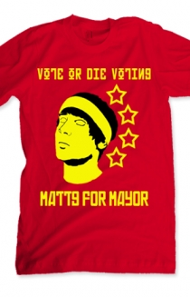 Matt for Mayor (red)