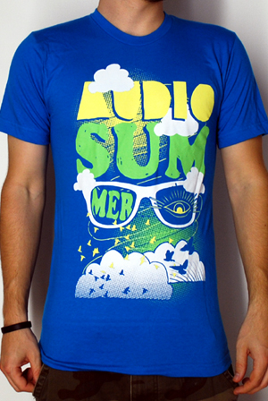 97a9c694c828 Shades (blue) T-Shirt - Audio Summer T-Shirts - Official Online Store on  District Lines