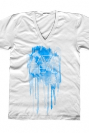 The Splatter V-Neck