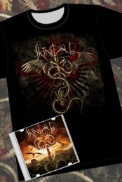 The Scars Between Us - CD & T-Shirt Package