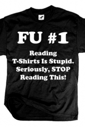 Reading Is Stupid