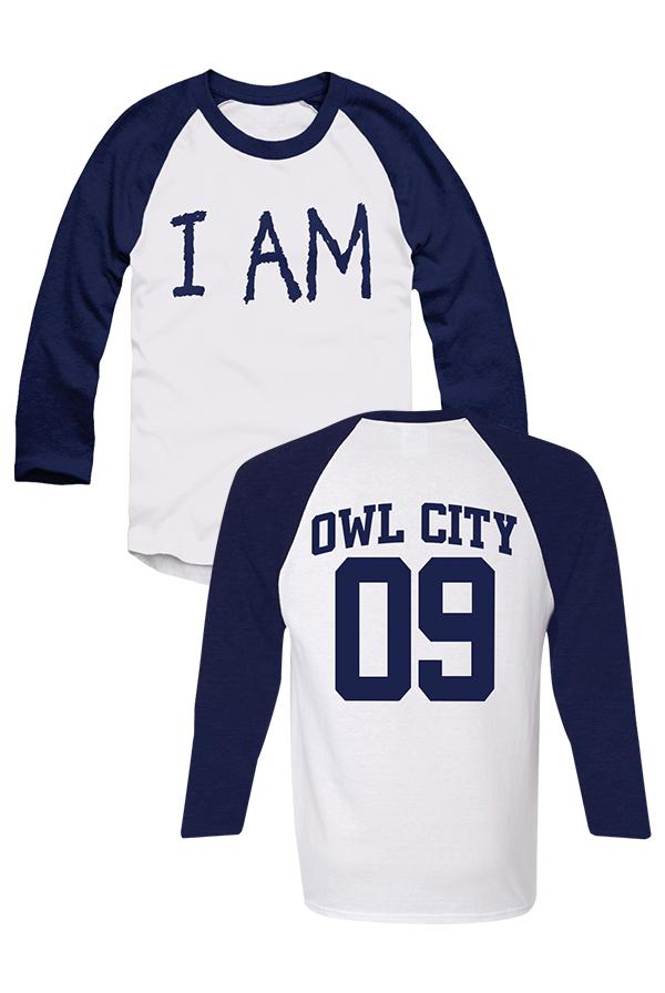I Am (3/4 Raglan) T-Shirt - Owl City T-Shirts - Official Online ...