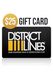 $25 Gift Card District Lines