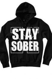 Stay Sober Zip-Up