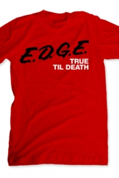 E.D.G.E. Red with Black Text