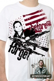 CD + Kids With Guns shirt