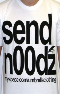Send Noodz (White)