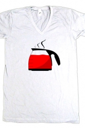 Hot Kool Aid (White V-Neck)