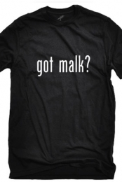 Got Malk (Black Crew-Neck)