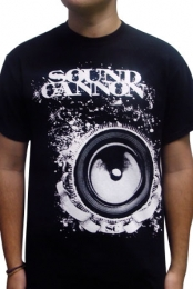 Sound Cannon Logo (White)