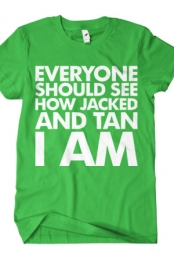 Jacked And Tan (Lime)