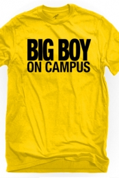 Big Boy On Campus (Yellow Crew-Neck)