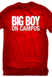 Big Boy On Campus (Red Crew-Neck)