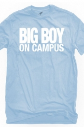 Big Boy On Campus (Light Blue Crew-Neck)