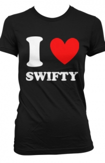 I Heart Swifty Girls (black)