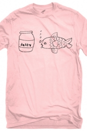 Jellyfish (Pink Crew-Neck)