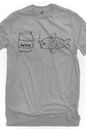 Jellyfish (Heather Grey Crew-Neck)