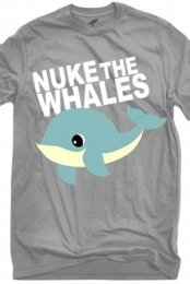 Nuke the Whales (Heather Grey)