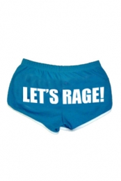 Let's Rage (Blue/White)