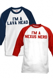 Nexus Nerd Tee + Lava Head Tee Package