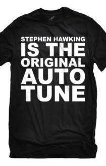 Stephen Hawking (Black)