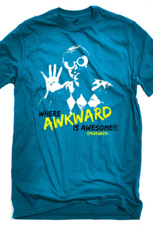 Where Awkward is Awesome T-Shirt - omgruben T-Shirts - Online ...