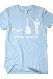 Mystery Guitar Man Icons (Light Blue)